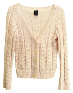 Nautica Gently Worn Pink Cardigan