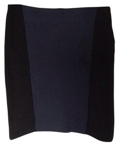 Laundry by Shelli Segal Skirt Black and blue