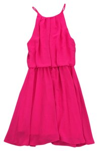Lush short dress Pink on Tradesy