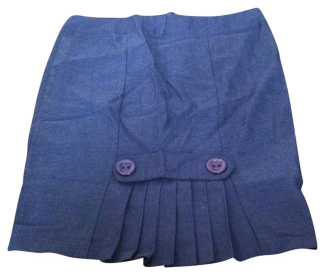 Other Pleated Pencil Skirt Gray