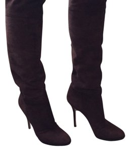 Jimmy Choo Chocolate brown suede Boots