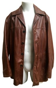 Wilsons Leather Mens brown Leather Jacket