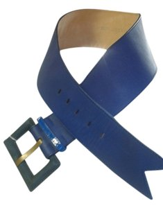 Meredith wendell Meredith Wendell made in Italy NWT size L wide cobalt blue belt