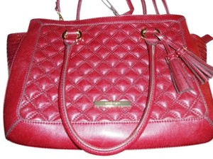 Anne Klein Satchel in Burgundy
