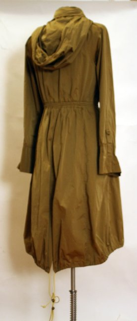 Tracy Reese Hood Asymmetric Trench Coat Image 2
