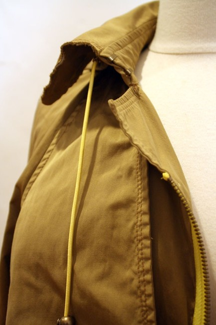 Tracy Reese Hood Asymmetric Trench Coat Image 6