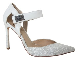 Aldo X Preen Collection Leather White Pumps