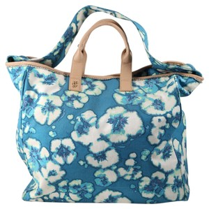 Juicy Couture Blue/White Beach Bag