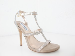 Steve Madden Sparkly Nude Sandals Wedding Shoes
