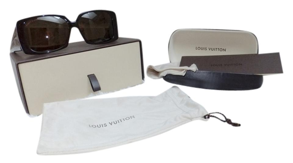 e49ee991a11 Louis Vuitton Brown W Sexy Leopard Tortoise Lenses Shades Marquis W Box  Hard Case   Cleaning Cloth Sunglasses