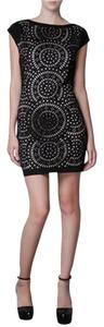 Other short dress Black Lace Vintage Mini Party Bodycon on Tradesy