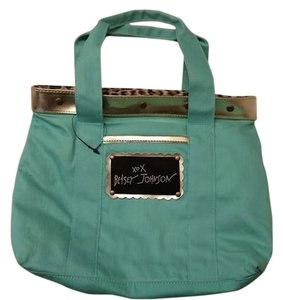 Betsey Johnson Front Pocket Over The Shoulder Bag