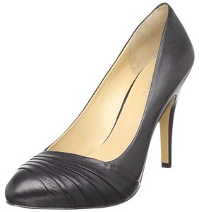 Nine West Stiletto Leather Black Pumps