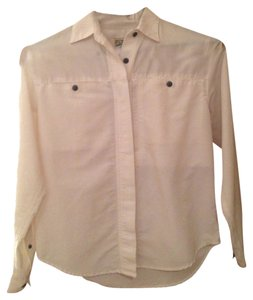TravelSmith Button Down Shirt White