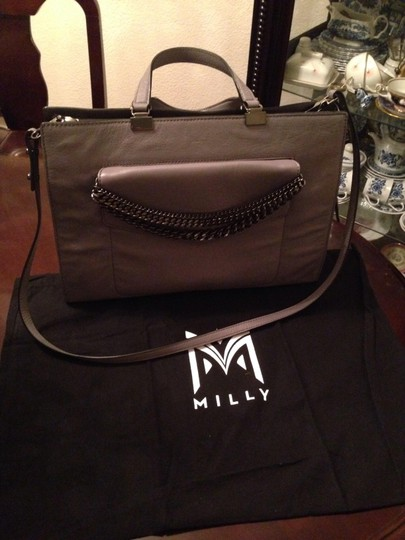 MILLY Tote in Charcoal