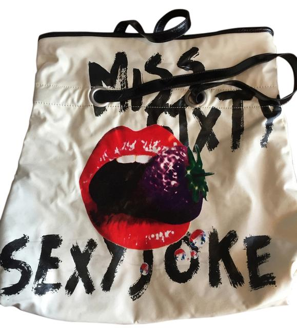 Item - Bag Large Hard To Find White/Black/Red/Purple/Green Tote