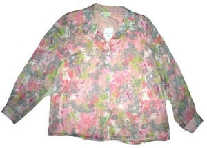 Appleseed's Top Pink Floral