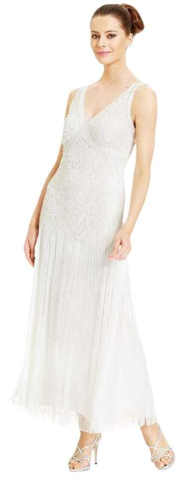 Fancy Pisarro Nights V Neck Beaded Sequin Gown Collection - Top ...