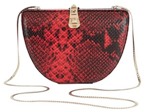 Rebecca Minkoff Faux Python Lether Cross Body Bag