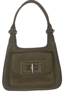 Banana Republic Taupe Grey Satchel in Grey Taupe