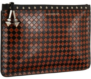 Givenchy Brown Black Clutch