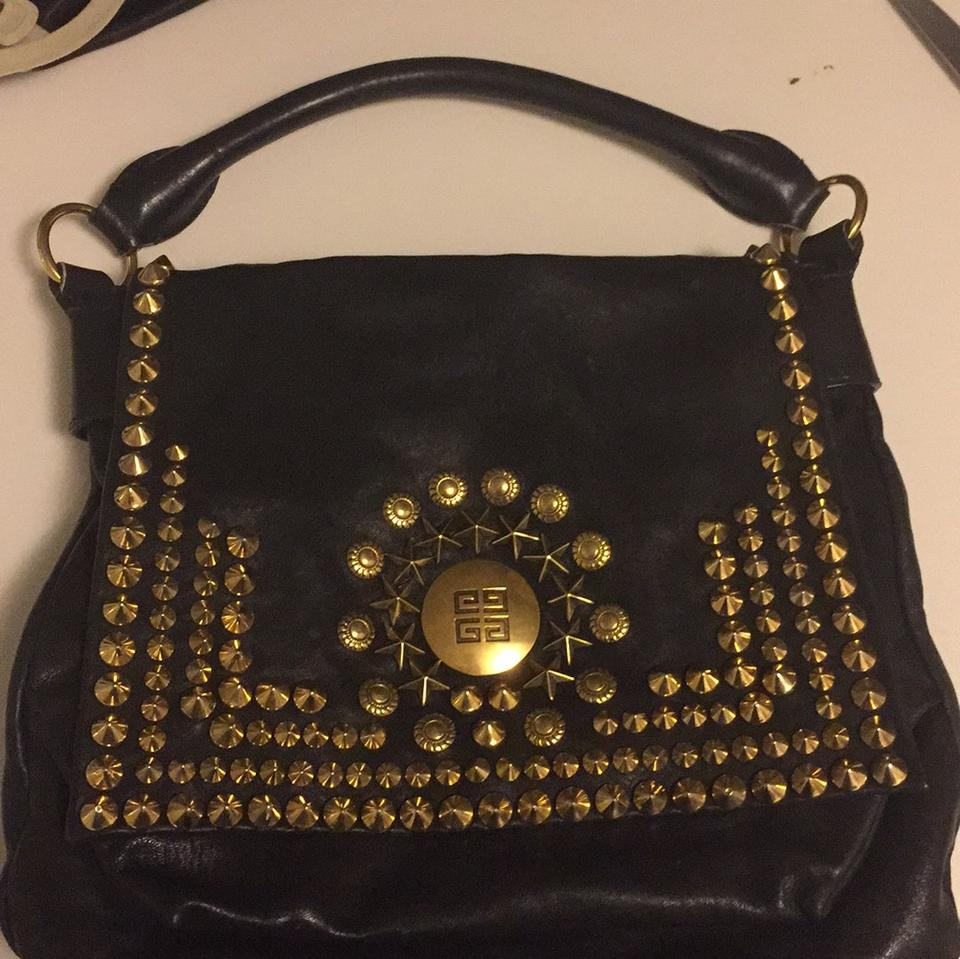 10cc43bff66e Givenchy Soha Black Leather Shoulder Bag - Tradesy