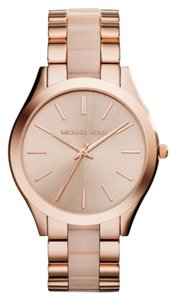 Michael Kors Michael Kors Slim Runway MK4294 Rose Gold Stainless Blush Watch