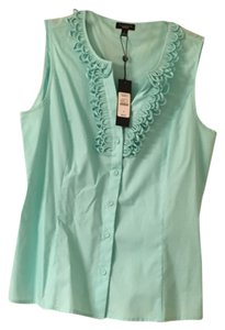 Talbots Top Light Blue