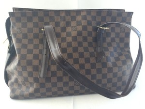 Louis Vuitton Damier Canvas Chelsea Laptop Tote in Damier ebene
