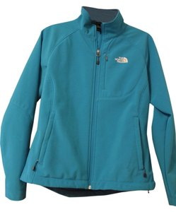 The North Face Winter Waist-length Warm Blue Jacket