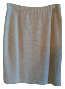 St. John Couture Spring Sale Skirt Hazelnut