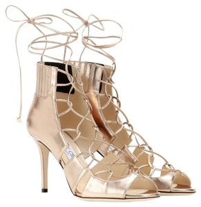 Jimmy Choo Gladiator GOLD Sandals