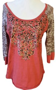 Maurices T Shirt Brown / orange