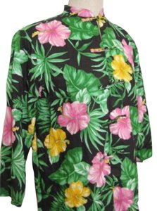 Ralph Lauren Hawaii Linen Top Green