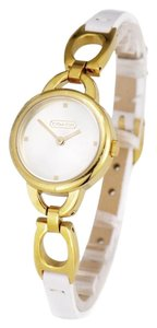 Coach COACH KRISTIN GOLD PLATED STRAP WATCH