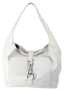 Dooney & Bourke Spring Summer Leather Silver Hardware Shoulder Bag