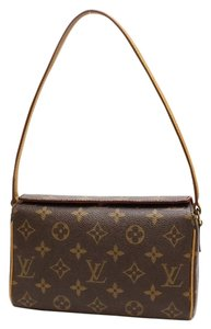 Louis Vuitton Recital Leather Shoulder Bag