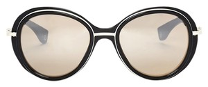 Moncler Moncler Black and White Sunglasses