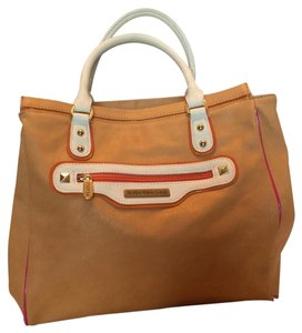 Tropea Carteras Tote in Orange and Pink