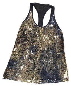 Sea New York Top Navy and Gold