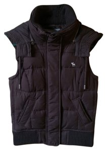 Abercrombie & Fitch A&f Women Fall Fall Jacket Fall Jacket Small S Vest