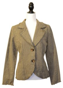 Civility of Los Angeles New With Tags Olive Green Blazer
