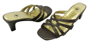 Beverly Hills Polo Club Size 6.50 M (Usa) Very Good Condition Brown Sandals