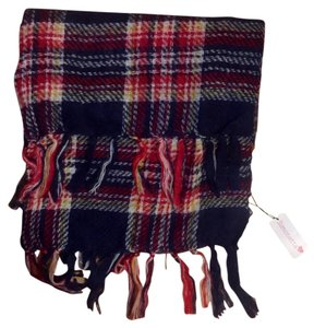 Simonette Plaid Blanket Scarf