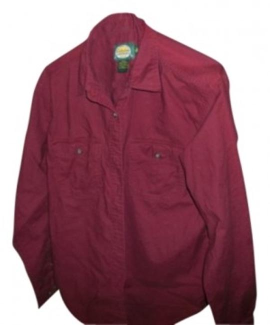 Preload https://img-static.tradesy.com/item/13083/cabela-s-burgundy-collared-button-up-shirt-button-down-top-size-10-m-0-0-650-650.jpg