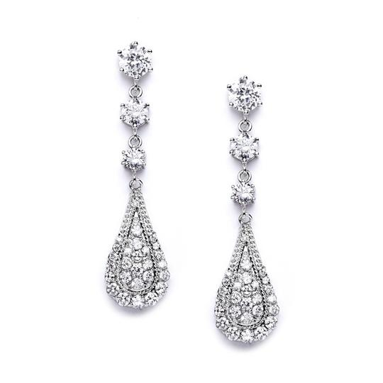 Sparkly Crystal Bridal Earrings