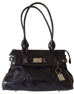 Giani Bernini Vintage American Classic Chic Satchel in Black