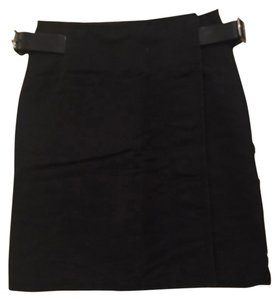 Burberry Kilt Skirt Black
