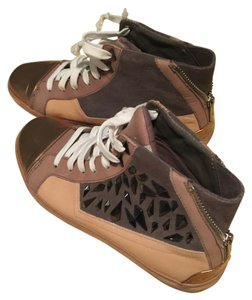 Sam Edelman Brown & bronze Athletic