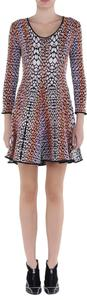 Fendi short dress Black Multi on Tradesy